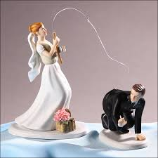 fishing wedding cake toppers 219 7105 7106 wedding cake toppers