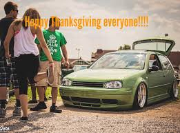 volkswagen thanksgiving images tagged with mk3point5 on instagram