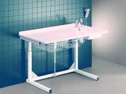 Changing Table With Sink Care Dolphin Adjustable Height Changing Table With Sink