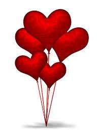 heart shaped balloons heart shaped balloons psd