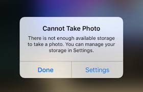 iphone cannot take photo how to fix cannot take photo problem on iphone and ipad