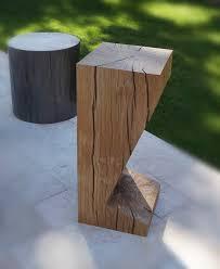 Modern Wood Bar Stool Contemporary Bar Stool Wooden Garden Modern Look Kronos Kub
