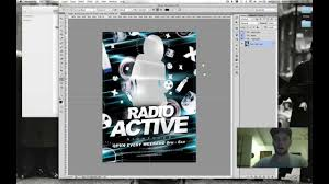 how to use radio active free club flyer template by flyerheroes
