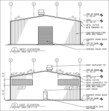 Elevation Floor Plan Easy Metal Building Floor Plan Software Cad Pro