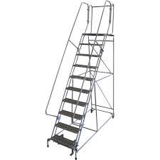 ladder rolling ladders rolling platform ladders northern tool equipment