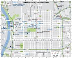 Amtrak Map Usa by Sacramento Downtown Map