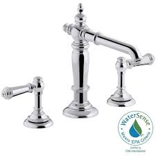 Memoirs Faucet Kohler Forte 8 In Widespread 2 Handle Low Arc Water Saving