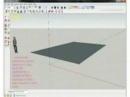 google sketchup tutorials line and rectangle youtube