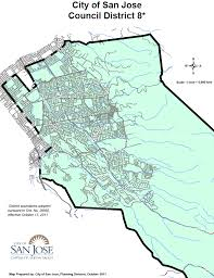 san jose district map san jose ca official website district 8 map