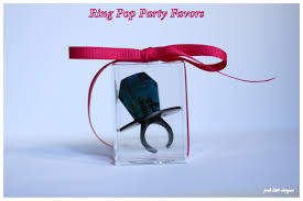 ring pop boxes diy ring pop party favors posh designs