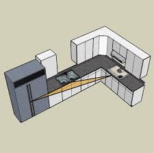 l kitchen layout the l shaped or corner kitchen layout a basic guide