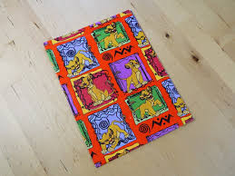 lion king wrapping paper vintage the lion king wrapping paper from lovesallthingsyou on