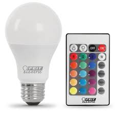 color changing light bulb with remote remote control color changing led feit electric