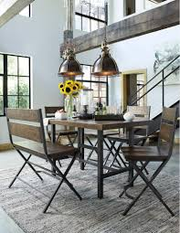 d469d2 in by ashley furniture in silver city nm kavara medium hidden additional kavara medium brown 6 piece dining room set