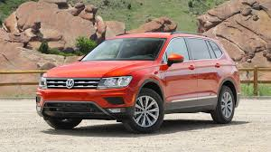 volkswagen tiguan 2016 red 2018 volkswagen tiguan first drive weird in name only