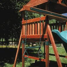 Backyard Adventure Playset by Backyard Adventures Trapeze Bar Playset Accessories American Sale