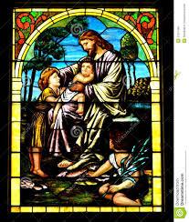 jesus blesses children stock photo image 57251499