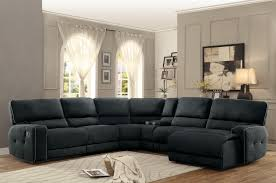 Sectional Living Room Sets by Homelegance Keamey Reclining Sectional Sofa Set A Polyester