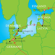 Lubeck Germany Map by Around The Baltic Hamburg To Helsinki Academy Travel
