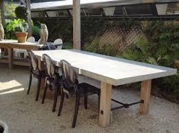 concrete top outdoor table concrete outdoor table google search claimjumper pinterest