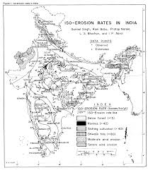India Regions Map by Journal Of Soil And Water Conservation