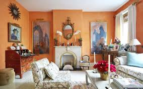 amazing paint color for living room orange wall color rectagle