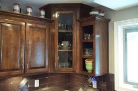 Kitchen Cabinet Art Corner Kitchen Cabinet What To Do To Avoid Awkward Look On It