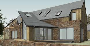 fakro roof windows for aberdeenshire passivhaus self build fakro