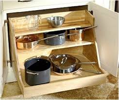 Sliding Drawers For Kitchen Cabinets 67 Cool Pull Out Kitchen Drawers And Shelves Shelterness