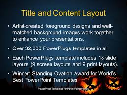 halloween email background powerpoint template halloween dark scenery with trees full