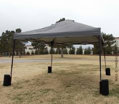 The Canopy Store by Heavy Duty Black Canopy Tent Sandbags 4 Pack From The Sandbag Store