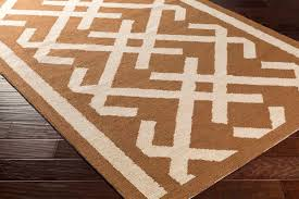 Burnt Orange Rugs Congo Collection By Artistic Weavers
