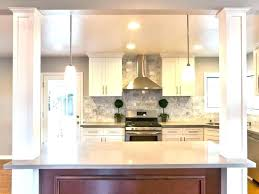 kitchen island posts kitchen island with columns lilyjoaillerie co