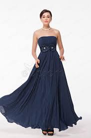 dress navy long prom dress prom dress evening dress