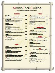 restaurant menu template free download create edit fill