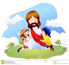 jesus with children stock photography image 18356232