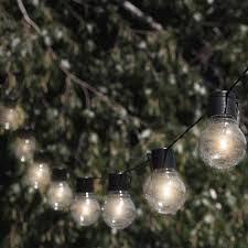 Awning String Lights Touch Of Eco Nitebulbs Solar 10 Light Globe String Lights
