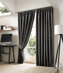 Grey Curtains 90 X 90 New Blackout Curtains Luxury Fully Lined Embroidered Pencil