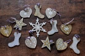 ornaments wooden tree ornaments