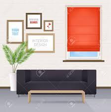 obturateur bureau intérieur de bureau avec des affiches de meubles pour votre texte