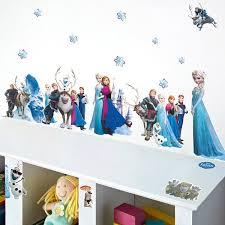 Disney Frozen Bedroom by Movie Frozen Wall Stickers Disney Frozen Elsa Anna Kristoff Olaf