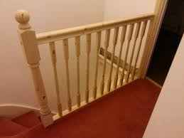 How To Refinish A Banister How To Replace Banister Newel Post Handrail And Spindles On A