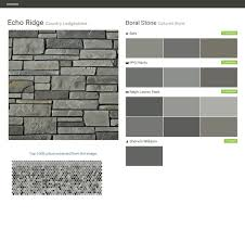 echo ridge country ledgestone cultured stone boral stone behr