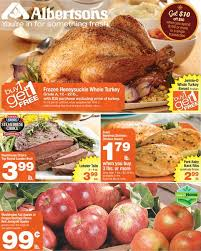 albertsons nw coupon deals 11 12 11 18 bogo turkey and turkey