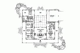 southwestern home plans home plan homepw14785 2539 square foot 3 bedroom 2 bathroom