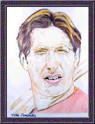 shahid afridi portrait sketch