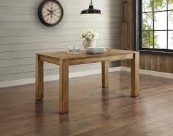 walmart better homes and gardens farmhouse table better homes and gardens bryant dining table rustic brown walmart