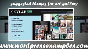 wordpress themes for art gallery check out these wp templates