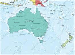 map of australia political digital map political australia 1306 the world of maps