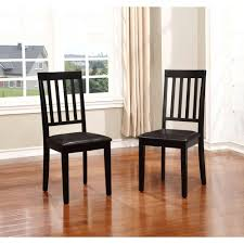 Black Home Decor by Linon Home Decor Cayman Black Dining Chair Set Of 2 030431wal02u